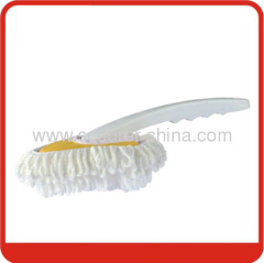 Eco-Friendly Microfiber Duster with White+yellow