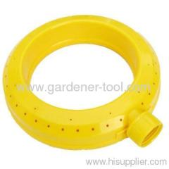 Plastic Ring Sprinkler With Gentle rain-like application