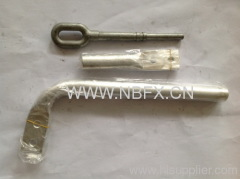NY-300/40 HYDRAULIC COMPRESSION TYPE STRAIN CLAMP