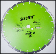 diamond saw blade brazed