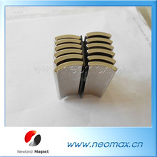 Strong arc magnets used in motors wholesale