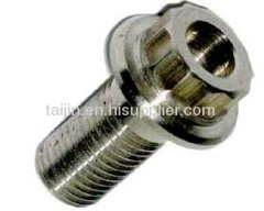 titanium fastener hex nut and titanium standard parts