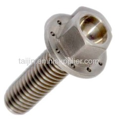 High Quality Din 912 Gr2 Titanium Fastener For Bicycle Application