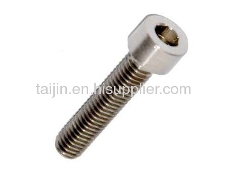 High quality Titanium screw/Titanium bolt/Titanium fastener manufacturer
