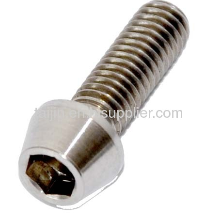 Titanium Ti Fastener with high quality