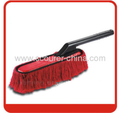 Mixed Cotton and PP Duster with Red+black Color