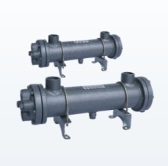 pipeline type oil cooler