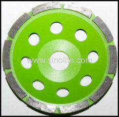 diamond segmented cup grinding wheel