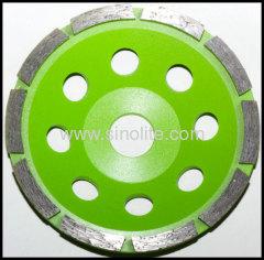 diamond segmented cup grinding wheel