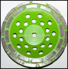 Diamond cup grinding wheels.