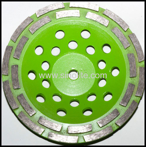 Diamond cup grinding wheels