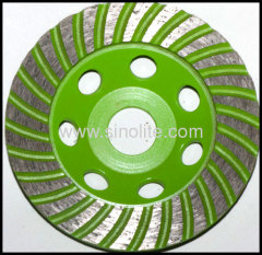 Cup grinding wheel diamond segmented