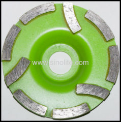 special design diamond cup grinding wheels