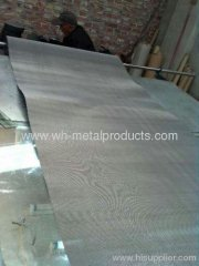 Metal wire woven mat type nets
