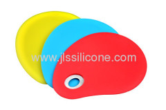 Round silicone scraper without handle