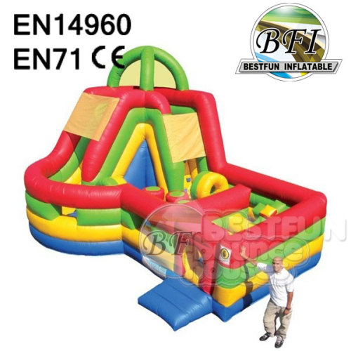 Colorful Inflatable Combo Maze