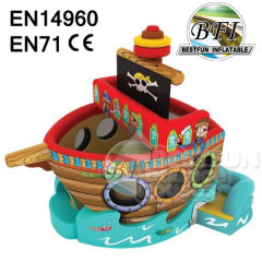 Fun Inflatable Pirate Ship Combo