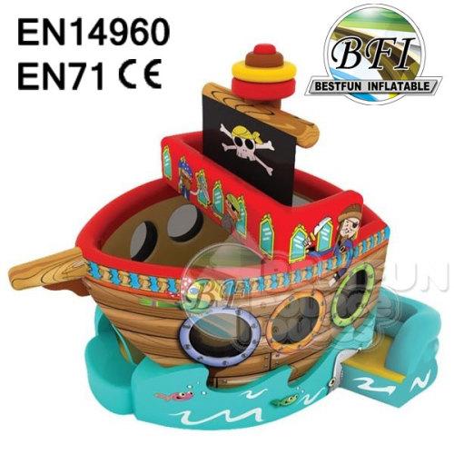 Fun Inflatable Pirate Ship Combo