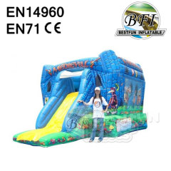 Inflatable Medieval Jumpping Combo