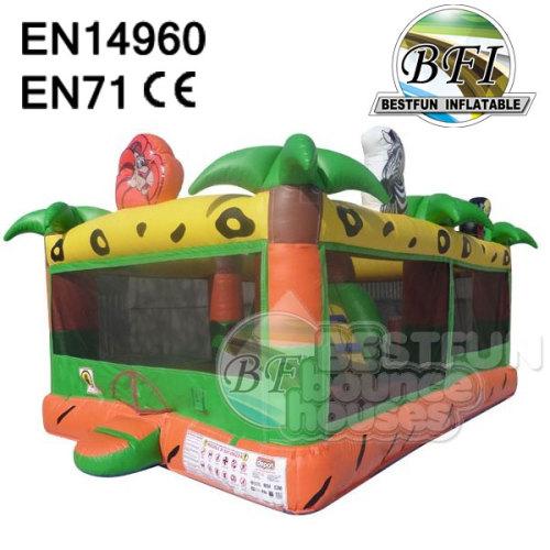 Jungle Theme Bouncy House