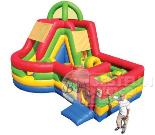 Inflatable Combo Slide Obstacle