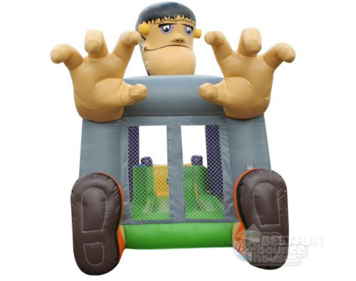 Cartoon Inflatable Bouncer Castle