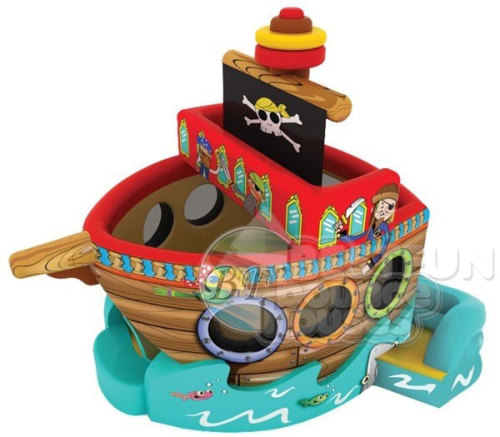 Inflatable Pirate Ship Bouncer