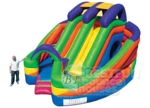 Coloerful Bouncer Combo Inflatable