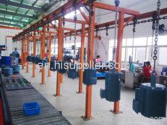 chaîne de production automatique de revêtement de poudre pour le produit en métal principal fournisseur en Chine