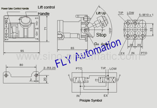 dump truck cab valve from china manufacturer