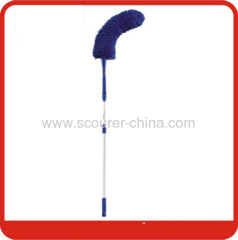 Microfiber Duster for Ceiling Fans with blue+yelllow