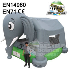 Inflatable Elephant Bouncer House