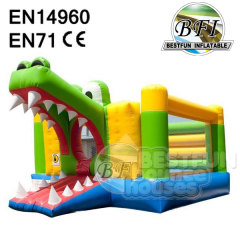 Inflatable Alligator Bouncy House