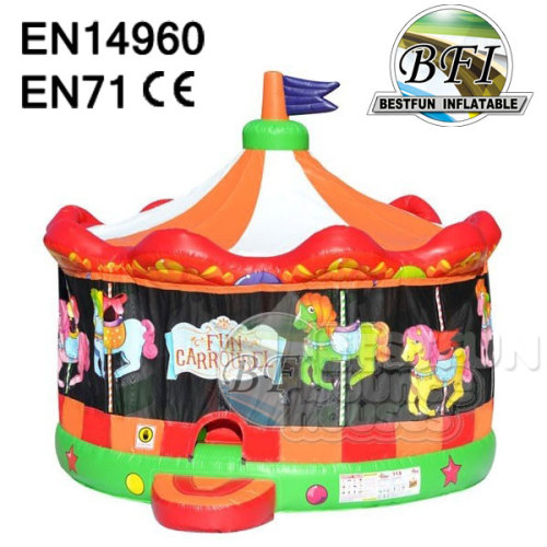 Inflatable Carousel Bouncy House
