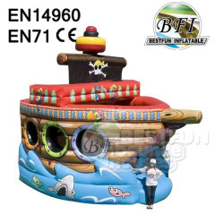 Inflatable Pirate Ship Bouncy