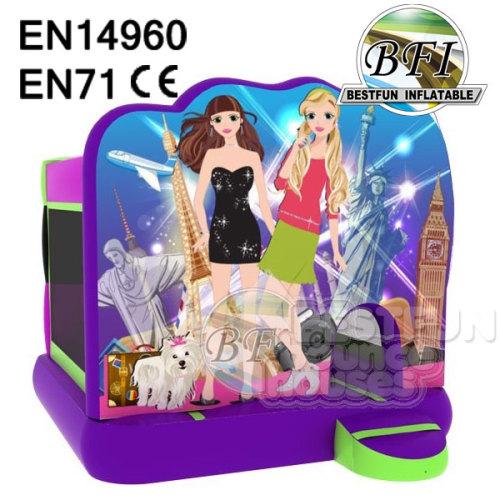 Hot Sale Inflatable Princess Bouncer