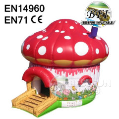 Inflatable Mushroom Bouncy House