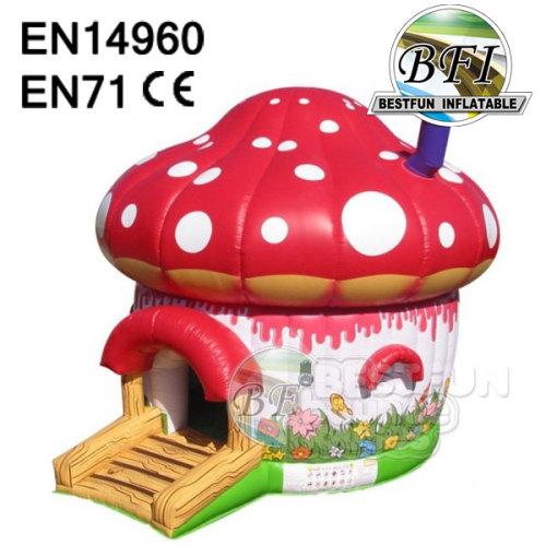 Inflatable Mushroom Bouncy House