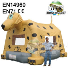 Inflatable Spotty Theme Bouncer