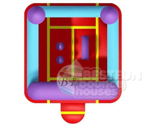 Colorful PVC Inflatable Jumping Bouncer