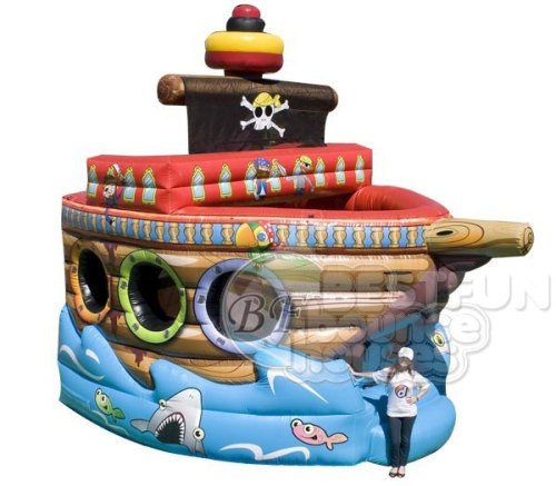 Inflatable Small Pirate Ship Castle Bouncer