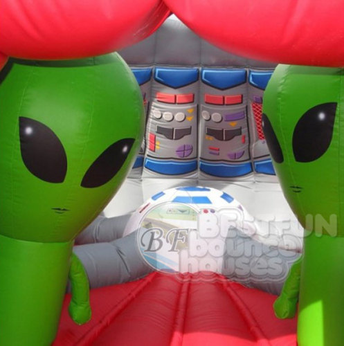 Inflatable UFO Bounce House