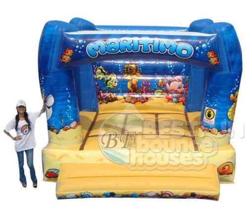 Gaint Inflatable Seaworld Bouncer