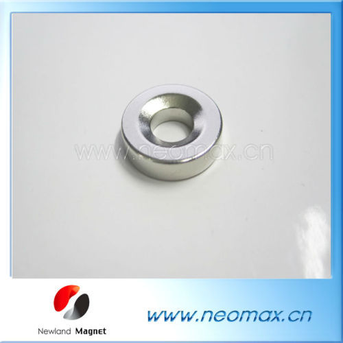 NdFeB Magnet Disc with Countersunk Hole