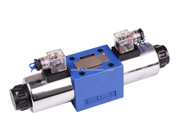 Dsg directional control valves electrically operated from for Hydraulic motor control valve