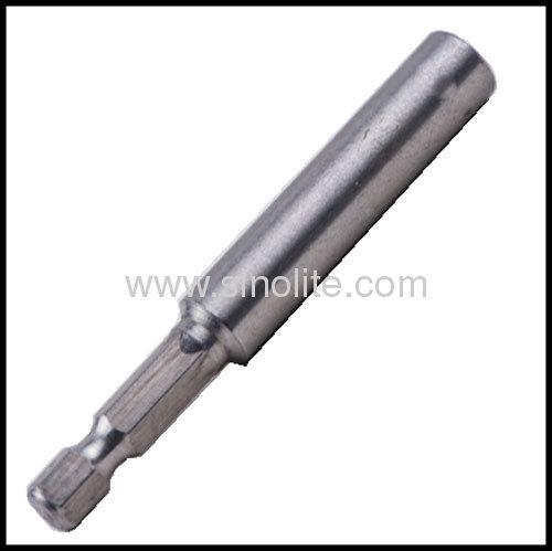 Stainless steel magnetic bit holder