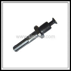 Adaptor of drill chuck with screw