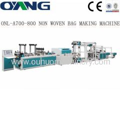 non-woven box bag making machine price