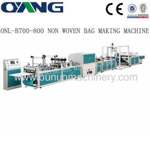 full automatic non woven bag making machine