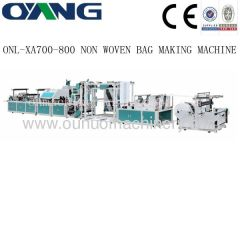 non woven box bag making machines price